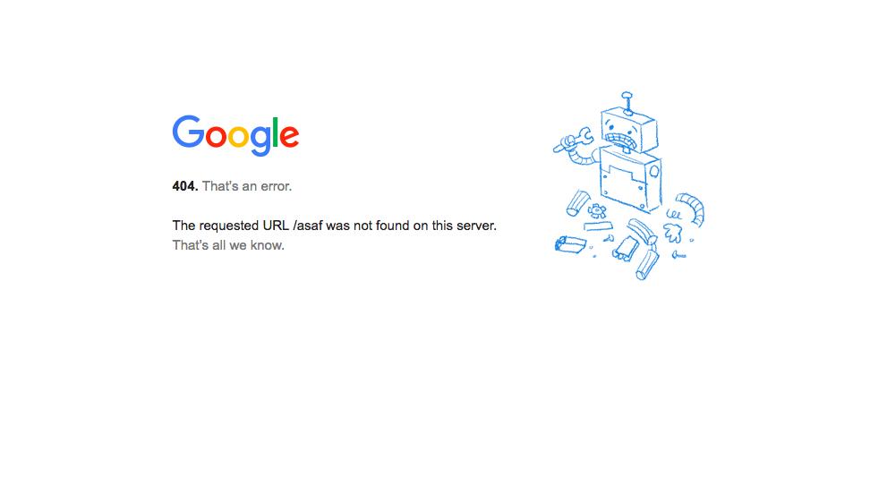 404 hataları ile karşılaşmak