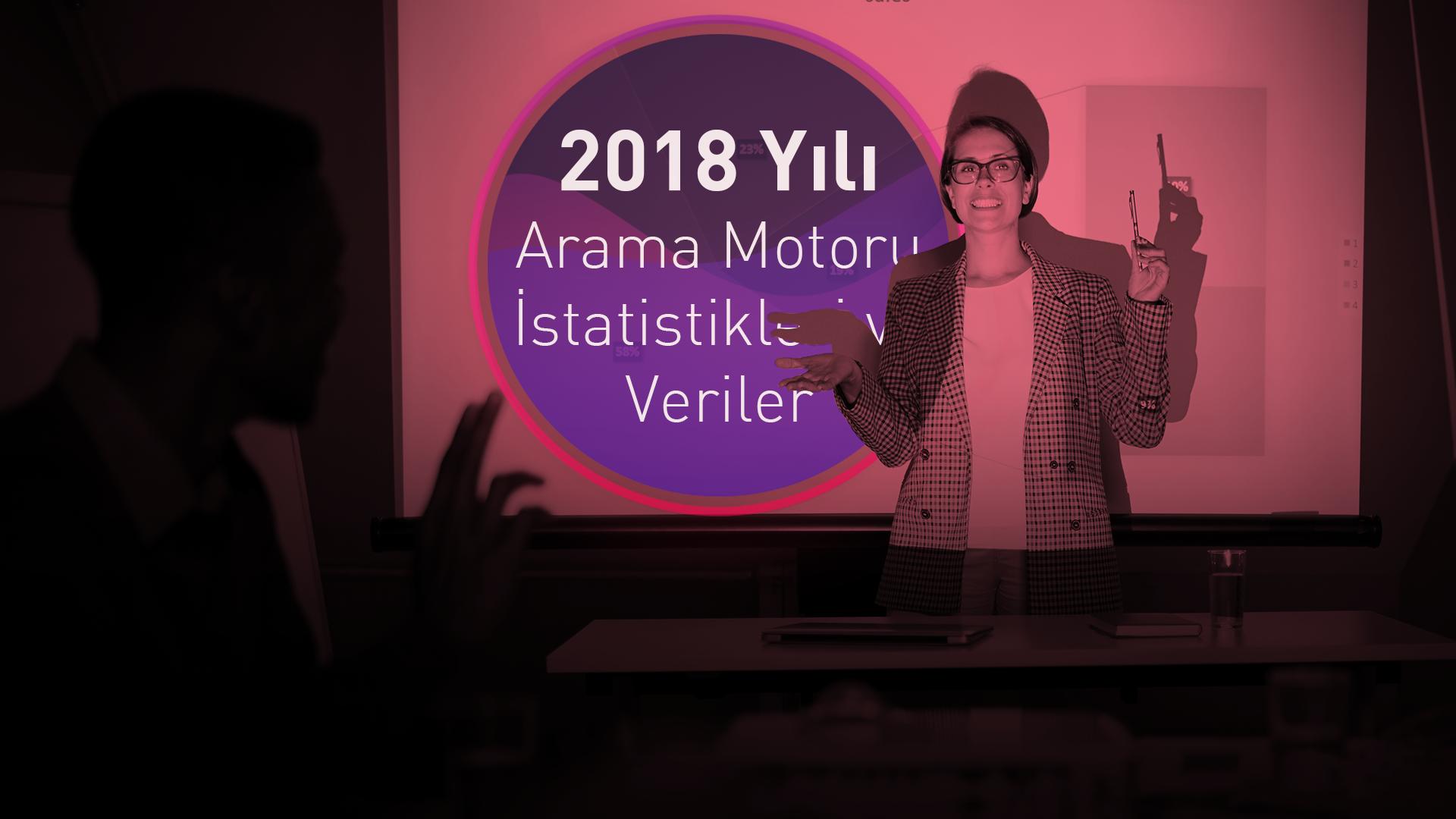 2018 Yılı Arama Motoru İstatistikleri