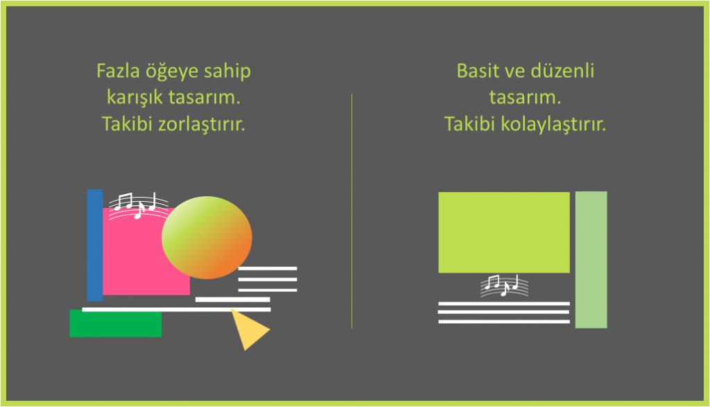 8 grafik tasarım taktiği - Sade tasarım